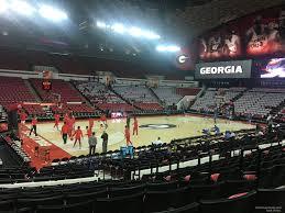 Stegeman Coliseum Section H Rateyourseats Com
