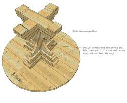 48 round table top free woodworking plans to build a chunky french farmhouse style round pedestal 48 round table top