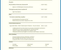 First Time Resume Template First Time Job Resume Template First Resume No Experience Template