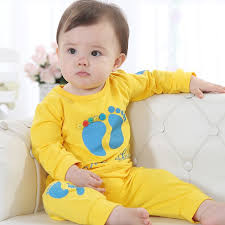 aliexpress yellow cute baby boys clothing sets kid clothing children s t shirts pant suit outfits 80 90 100 est hot from reliable baby