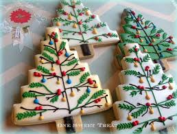 Christmas Trees - sugar cookies