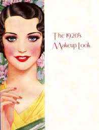 powder was used by 1920s makeup s