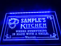 Neon Light Signs Amazon Cool To Have In Home Dz020 Welcome Kitchen