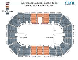 Stampede Rodeo Seating Chart Rodeo Map Copy