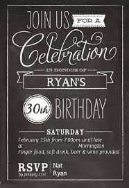30th birthday invitations for him with a bination of style birthday invitation template 22