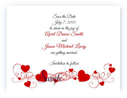 Red Save The Date Cards Details About 100 Personalized Custom Red Hearts Bridal Wedding Save The Date Cards