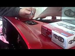 how to install dash speakers