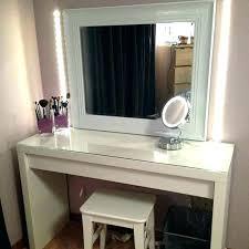 Makeup Vanity Dresser Bedroom Vanity Table With Lights Best Makeup ...