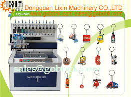 Key Making Vending Machine Interesting Promotional PVC Rubber Label Key Chain Making Machine Guang Dong