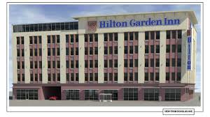 the new hilton garden inn is not expected to be complete until later this year