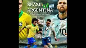 البرازيل والارجنتين تصفيات أمريكا الجنوبية المؤهلة إلى مونديال 2022. لماذا  الغيت المباراة - YouTube