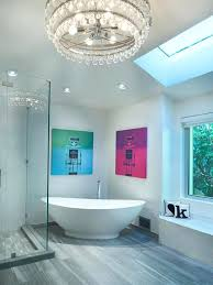 proper bathroom lighting. Bathroom Chandeliers As Ceiling Lighting Should Be In The Proper Proportion For Illumination