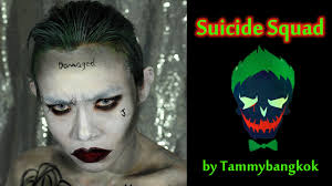 the joker squad makeup tutorial by tammybangkok
