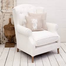 white wingback chair. Emerson_wingback_chair_white_2.jpg White Wingback Chair E