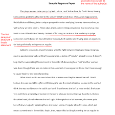 Research Paper Samples Introduction Format How To Write An Apa Style