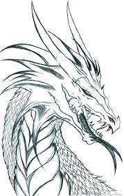 Real Dragon Coloring Pages Dragon Coloring Pages To Print Free