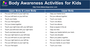 Body Awareness Activities For Stronger Proprioception And