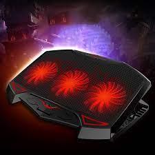 Fan notebook laptop standı dizüstü gamer vga soğutucu usb Fan fan rgb  soğutma pedleri dizüstü 15 aksesuarları pc dizüstü bilgisayarlar gtx 1080  ti i7|Laptop Cooling Pads