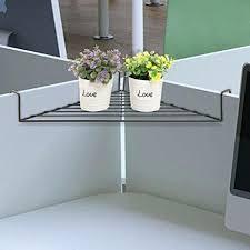 office corner shelf. Metal Hanging Shelves Tremendous Cubicle Excellent Ideas Amazon Com Black Office  Corner Shelf Small S
