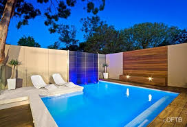 Backyard With Pool Design Ideas Extraordinary OFTB Melbourne Landscaping Pool Design Construction Project