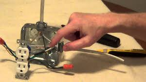how to wire a switched outlet youtube GFCI Wiring Multiple Outlets Diagram how to wire a switched outlet