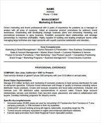 Management Resume Templates PDF DOC Free Premium Templates Awesome Resume For Management Position