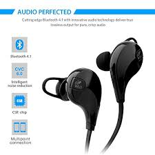 lg earbuds. ultrics® bluetooth headphones, in ear wireless headsets earbuds premium stereo bass sound sweatproof noise lg