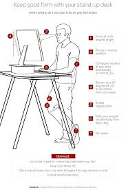 desk standing desk dilemma too much time on your feet ideal standing desk monitor height