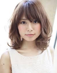 黒髪暗髪パーマミディアムhi 21 ヘアカタログ髪型ヘア