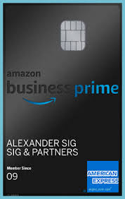 Maybe you would like to learn more about one of these? Amazon Business Prime Card American Express Deutschland Amazon Prime Card Neat