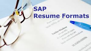 Sap Fico Sample Resume Sap Sample Resume