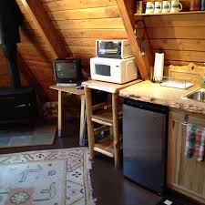 A Frame Kitchen Coal Creek A Frame White Pass Lodging White Pass Lodging