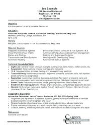 Sample Electronics Technician Cover Letter Electronics Technician