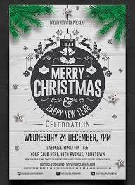 Printable Christmas Flyers Christmas Program Flyer Template 25 Christmas Psd Flyers Sample