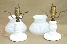 white milk glass lamps milk glass lamps value white milk glass lamp antique white milk glass