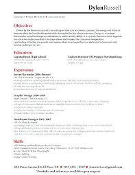Server Resume Objective Samples Server Resume Objective Samples