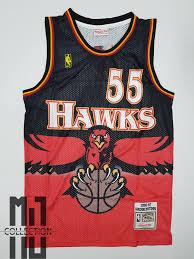 Dikembe Mutombo Hawks Hardwood Classics Basketball Jersey