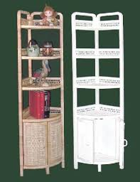 Wicker Corner Shelves Wicker Corner Shelves Tall Free Standing Wicker Corner Shelf 20