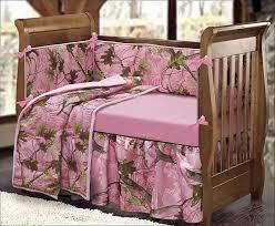 woodsy crib bedding pink camo girl