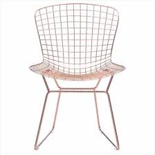 wire desk chair charming light zuo 100361 wire dining chair in rose gold set of