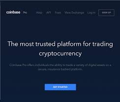 Coinbase Pro Trading Interface The Cryptocurrency Forums