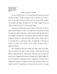 best knowledge page  narrative essay a lesson learned