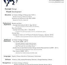 Artist Resume Template Resume Graphic Design Graphic