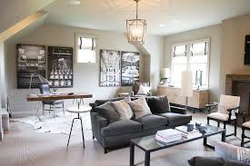 Office living room Cozy Awesome Living Room Office Combination Family Room And Office Combo Features Dark Grey Velvet Sofa Occupyocorg Awesome Living Room Office Combination Family Room And Office Combo