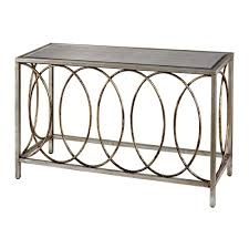 metal console table. sterling industries gold and silver 31-inch console table metal e