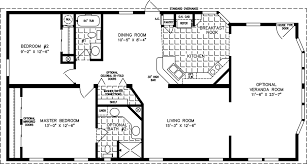 manufactured home floor plan the t n r model tnr 3403b 2 bedrooms