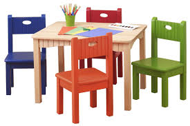 Depiction Of Modern Kids Table And Chairs Design Options Childrens Wooden Chair And Table Set