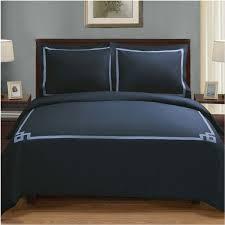 superior miller 3 piece cotton duvet cover set full queen navy blue navy blue souq uae