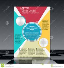 professional business flyer template stock vector image  professional business flyer template