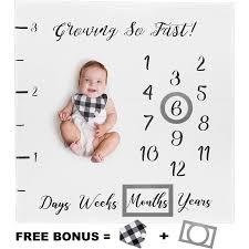 Home & Living Bedding <b>Baby Milestone Blanket</b>